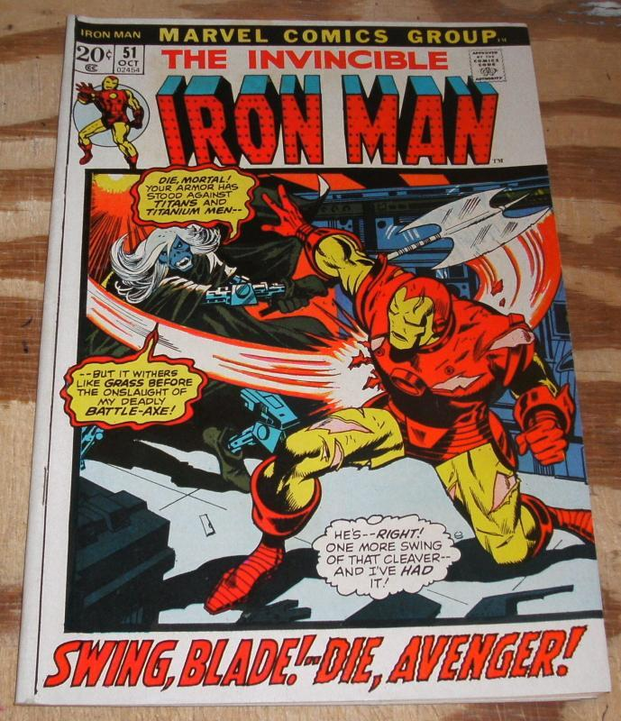 Iron Man 51 vf 8.0