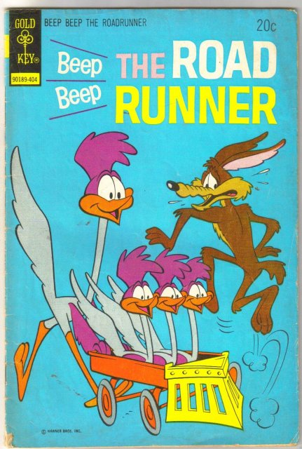 Beep Beep The Road Runner #44 comic book very good 4.0