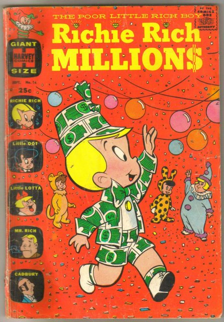 Richie Rich Millions #14 comic book good 2.0