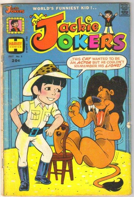 Jackie Jokers #3 comic book very good 4.0