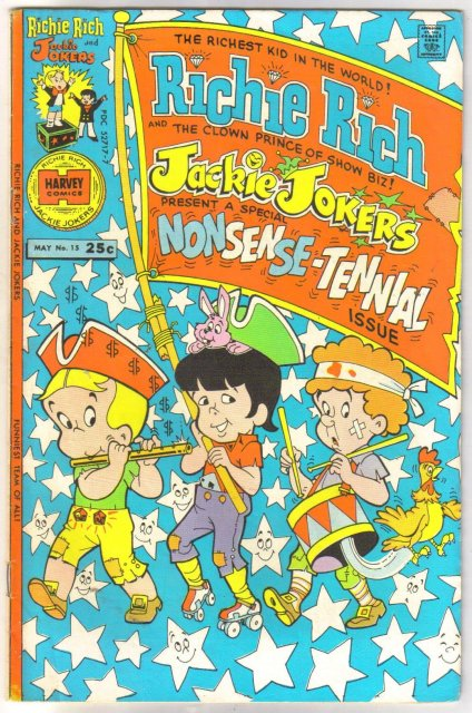 Richie Rich and Jackie Jokers #15  comic book fine/very fine 7.0