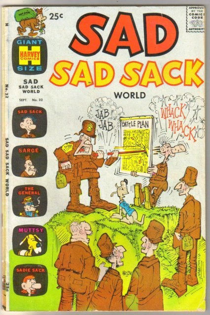 Sad Sad Sack #32 comic book very good/fine 5.0