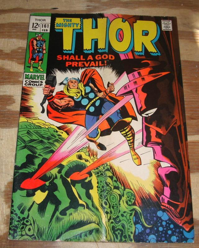 The Migfhty Thor #161 comic book very good  plus 4.54.0