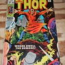 The Migfhty Thor #163 comic book very good  4.0
