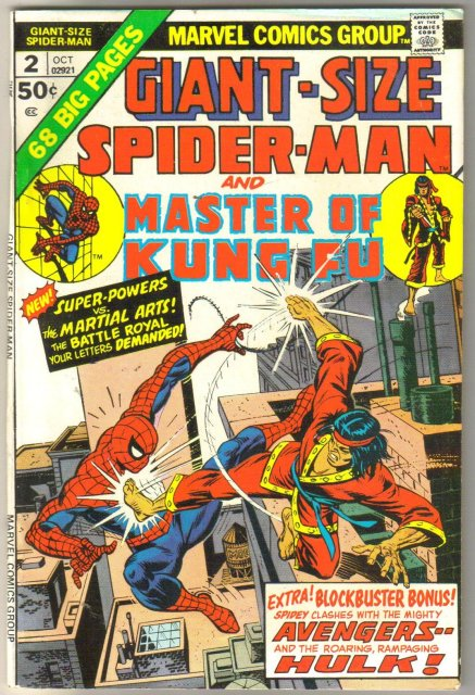 Giant-size Spider-man #2 comic book very fine 8.0