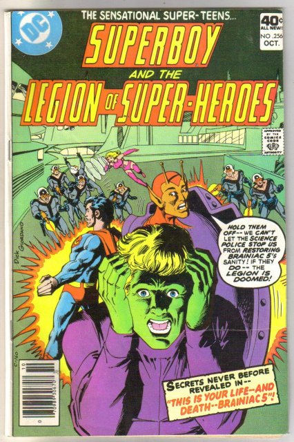 Superboy and the Legion of Super-Heroes  #256 comic book very good/fine 5.0