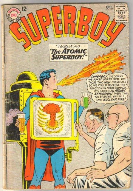 Superboy #115 comic book good 2.0