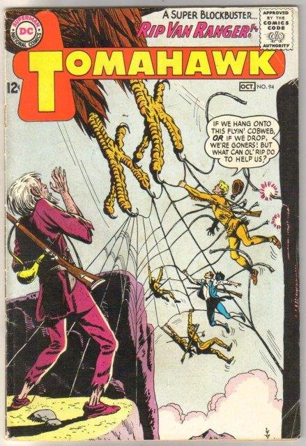 Tomahawk #94 comic book very good/fine 5.0