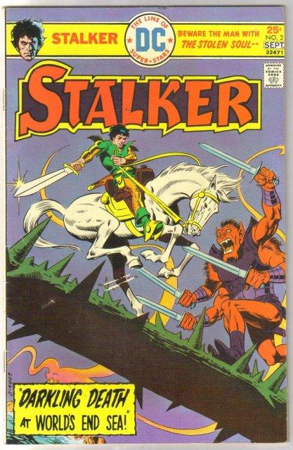 Stalker #2 comic book very fine 8.0