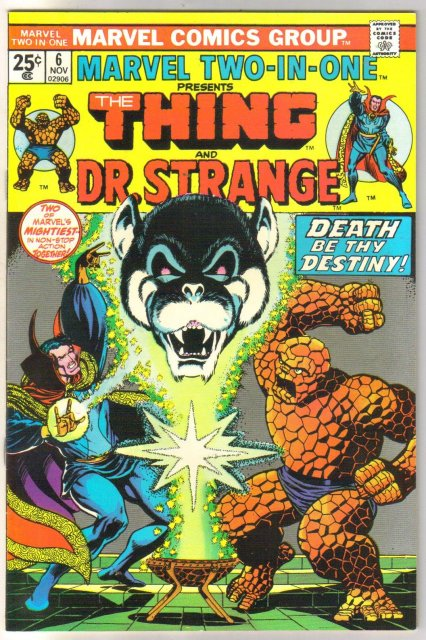 Marvel Two-in-one #6 comic book near mint 9.4