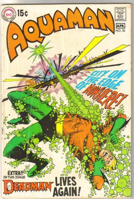 Aquaman #50 comic book very good 4.0