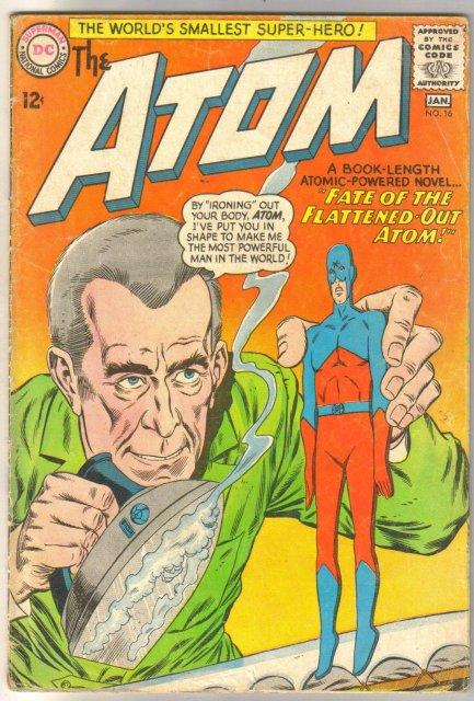 The Atom #16 comic book very good 4.0