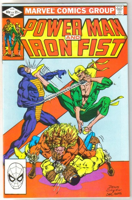 Power Man and Iron Fist #84 comic book near mint 9.4