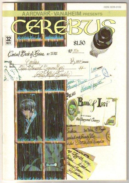 Cerebus #32 comic book near mint 9.4