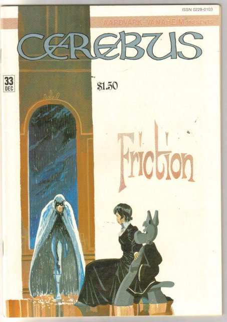 Cerebus #33 comic book near mint 9.4
