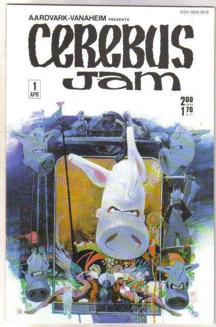 Cerebus Jam #1 comic book near mint 9.4