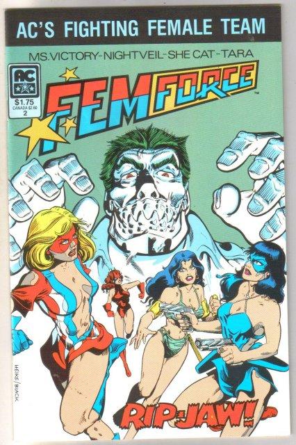 Femforce #2 comic book  mint 9.8