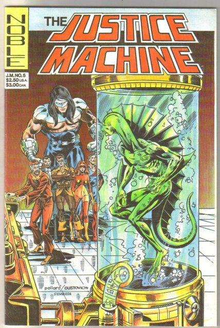 Justice Machine #5 comic book  mint 9.8