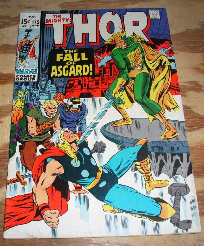 Thor #175 vf/nm 9.0
