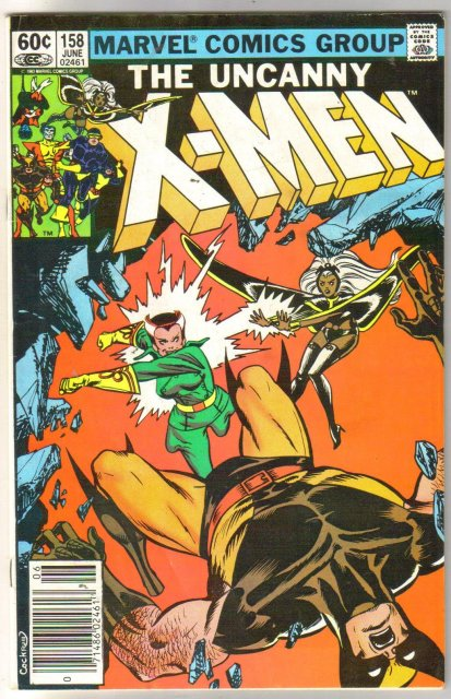 The Uncanny X-Men #158 fine/very fine 7.0