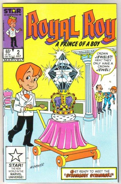 Royal Boy #2 comic book mint 9.8