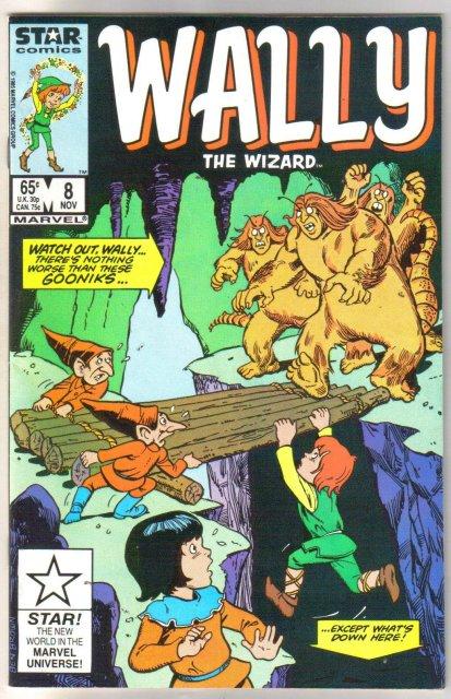 Wally the Wizard #8 comic book near mint 9.4