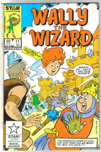 Wally the Wizard #11 comic book near mint 9.4