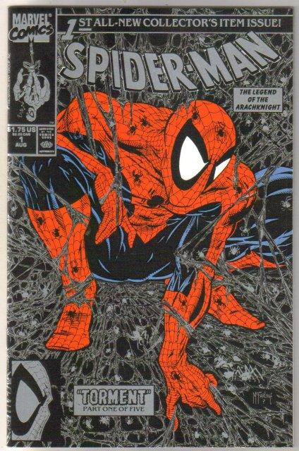 Spider-Man #1 black no upc comic book mint 9.8