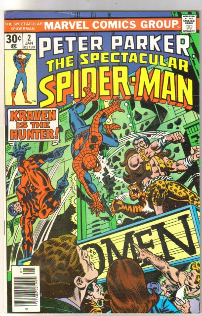 Peter Parker, The Spectacular Spider-Man #2 comic book fine/very fine 7.0