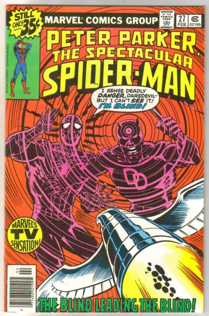 Peter Parker, the Spectacular Spider-Man #27 comic book very fine/near mint 9.0