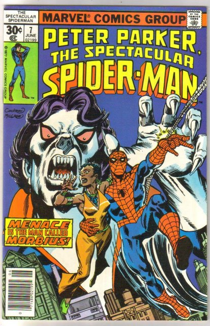 Peter Parker, the Spectacular Spider-Man #7 comic book very fine/near mint 9.0