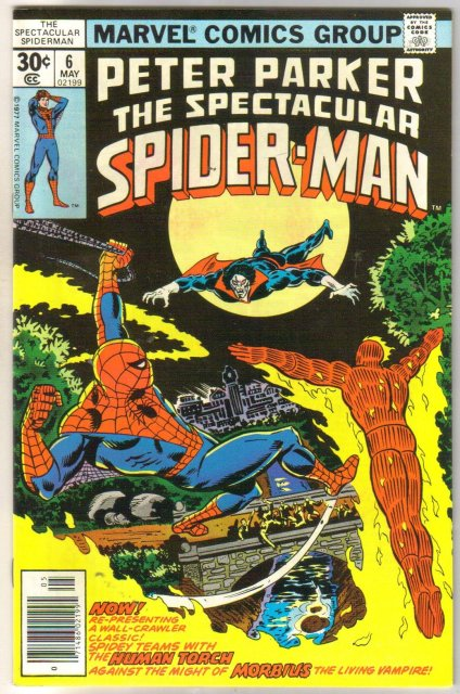 Peter Parker, the Spectacular Spider-Man #6 comic book very fine/near mint 9.0