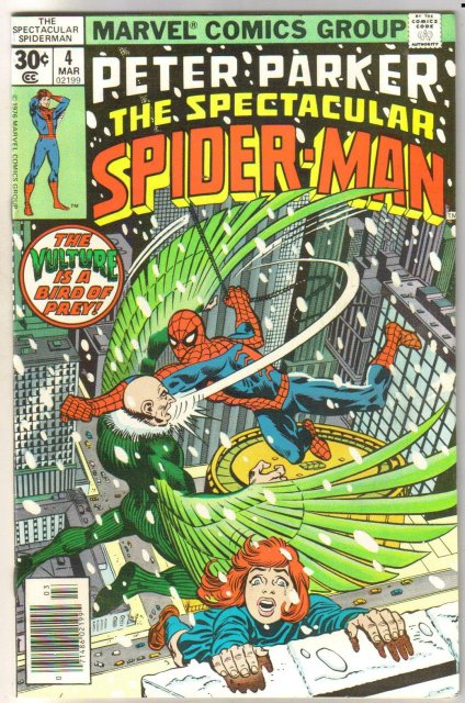 Peter Parker, the Spectacular Spider-Man #4 comic book very fine/near mint 9.0