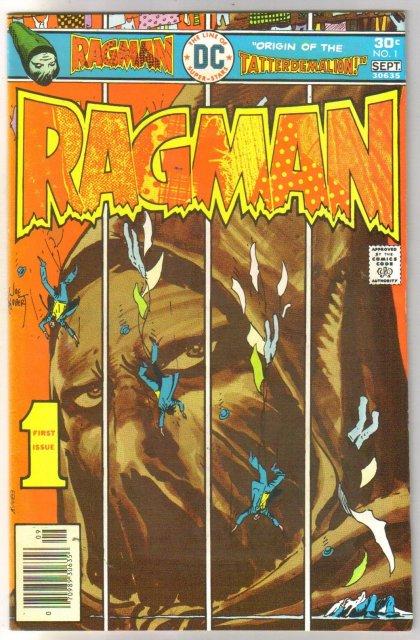 Ragman #1 comic book fine/very fine 7.0