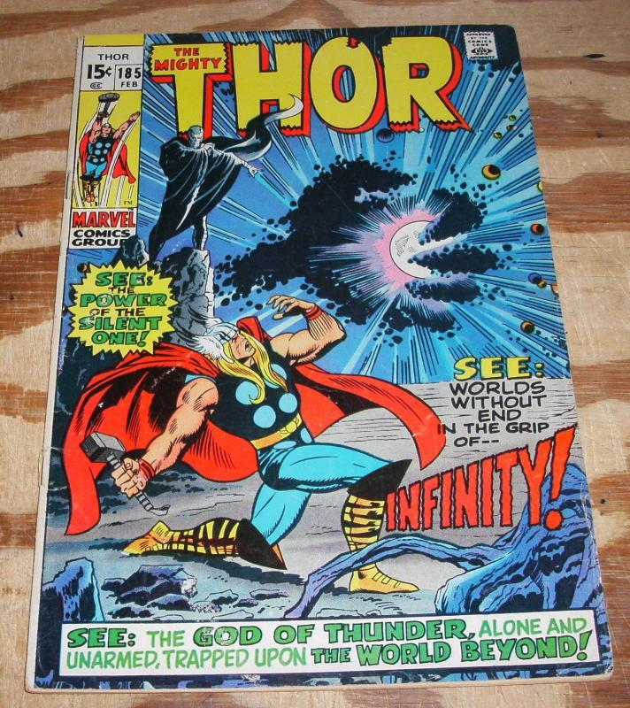 The Migfhty Thor #185 fine 6.0