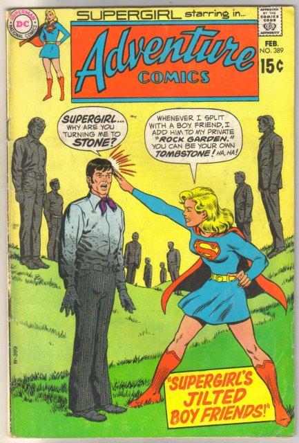 Adventure Comics #389 comic book very good/fine 5.0