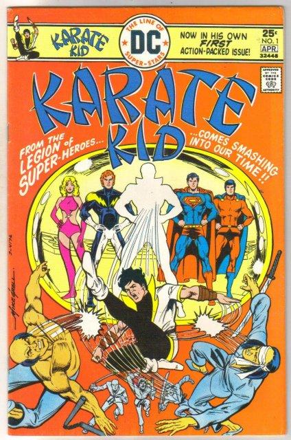 Karate Kid #1 comic book very fine/near mint 9.0