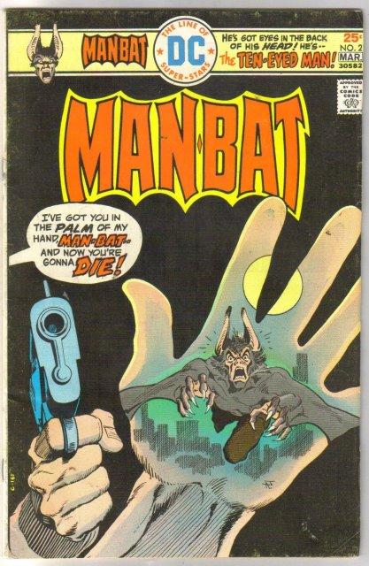 Man-Bat #2 comic book very fine 8.0