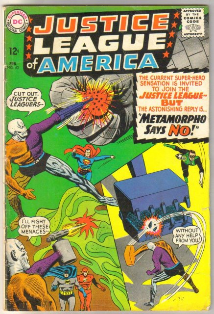 Justice League of America #42 comic book very good 4.0