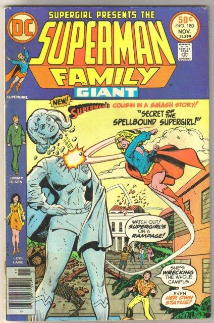 Superman Family #180 comic book fine 6.0