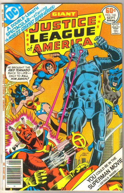 Justice League of America #146  comic book near mint 9.4