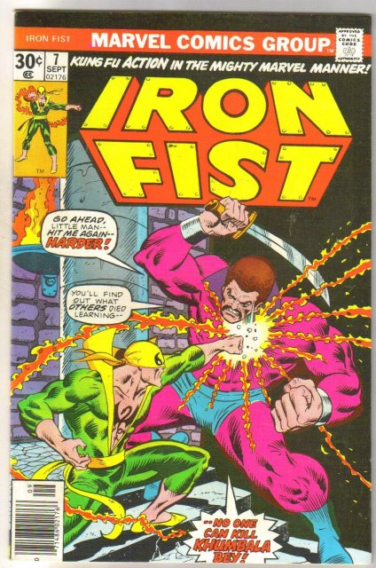 Iron Fist #7  comic book very good/fine 5.0