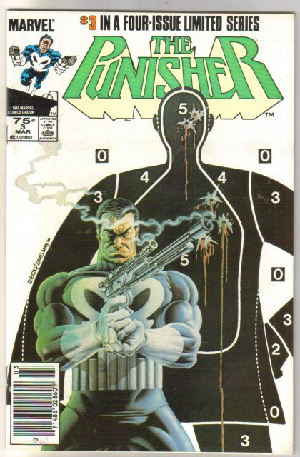 The Punisher #3 (mini serie) comic book near mint 9.4