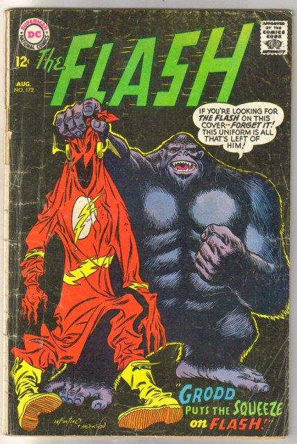 The Flash #172 comic book good plus 2.5