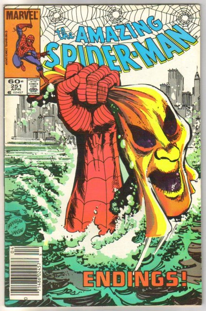 The Amazing Spider-man #251 comic book very fine 8.0
