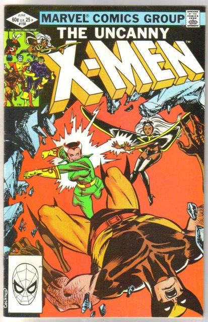 The Uncanny X-men #158 comic book fine 6.0