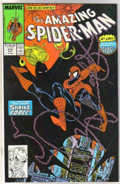 The Amazing Spider-man #310 comic book near mint 9.4