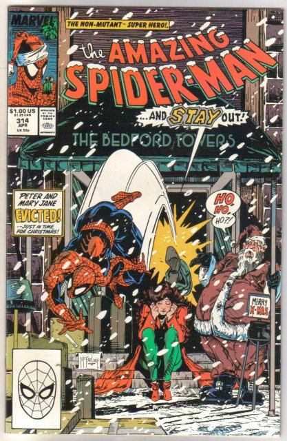 The Amazing Spider-man #314 comic book near mint 9.4