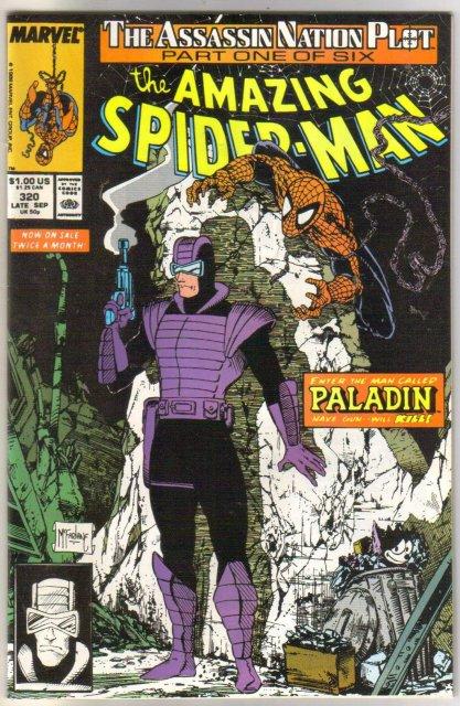 The Amazing Spider-man #320 comic book near mint 9.4