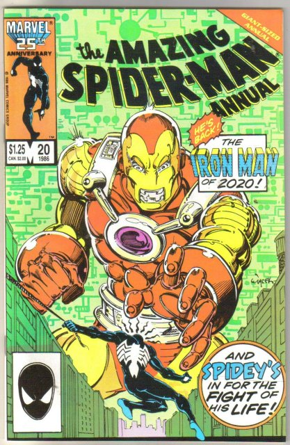 The Amazing Spider-man Annual #20 comic book near mint 9.4